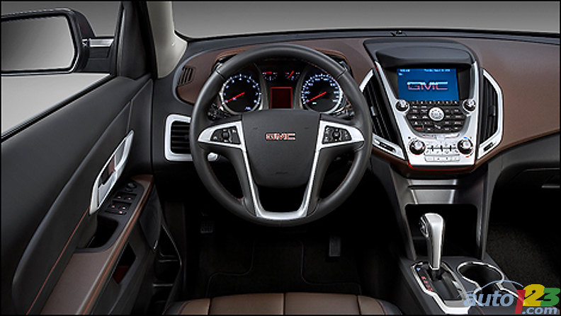 2010 GMC Terrain Overview