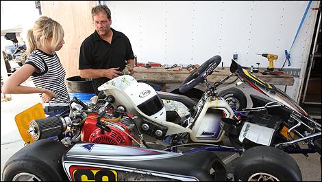 Karting la meilleure porte d 39 entr e au sport automobile for Karting exterieur montreal