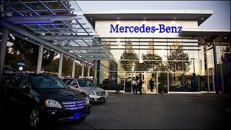 Mercedes benz opens state of the art north vancouver for Mercedes benz north vancouver