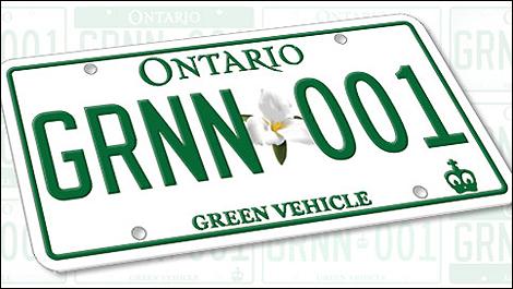 la nouvelle plaque d 39 immatriculation verte nouvelle automobile auto123. Black Bedroom Furniture Sets. Home Design Ideas
