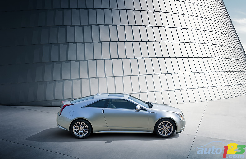 2011 Cadillac CTS Coupe Is Cadillac's Most Dramatic Design