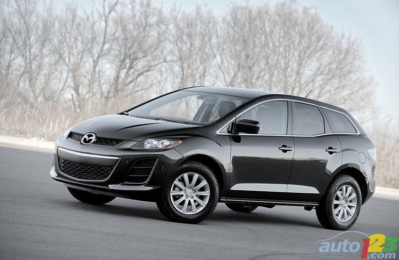 2010 mazda cx7 black. Black Bedroom Furniture Sets. Home Design Ideas