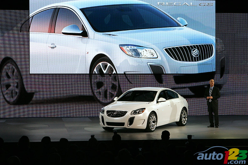 Detroit Autoshow 2010: Buick Regal GS - The new beast