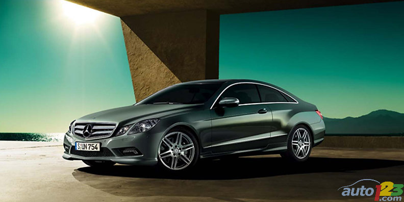 Auto123 new cars used cars auto shows car reviews for 2010 mercedes benz e350 coupe