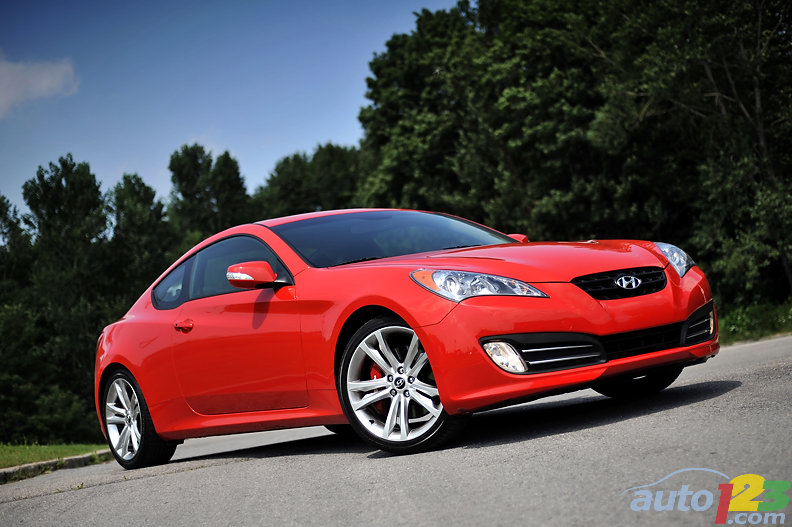 2010 Hyundai Genesis Coupe 3.8 GT Review