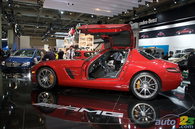 Mercedes Benz Sls Amg 2010. new Mercedes-Benz SLS AMG
