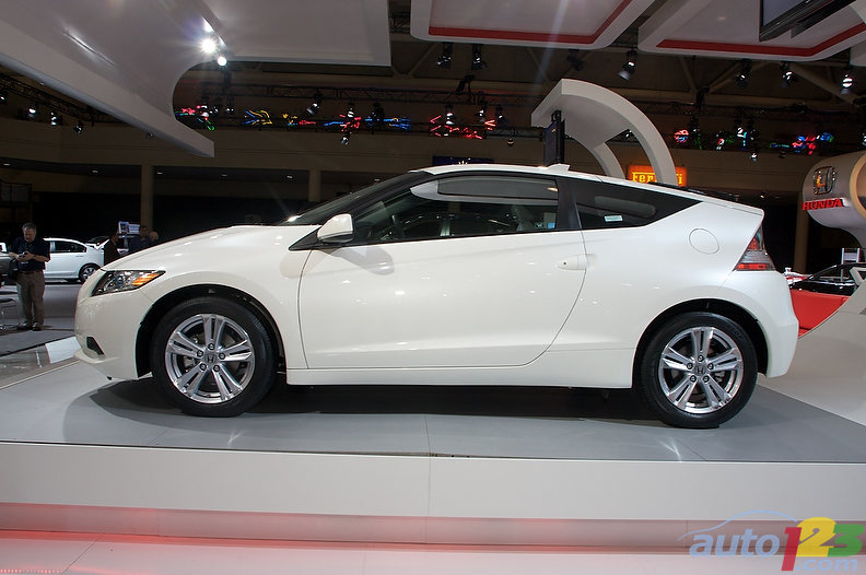 Honda Crz. Autoshow: Honda CR-Z Sport