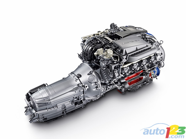 Mercedes-Benz : AMG 5.5 litre V8 biturbo engine