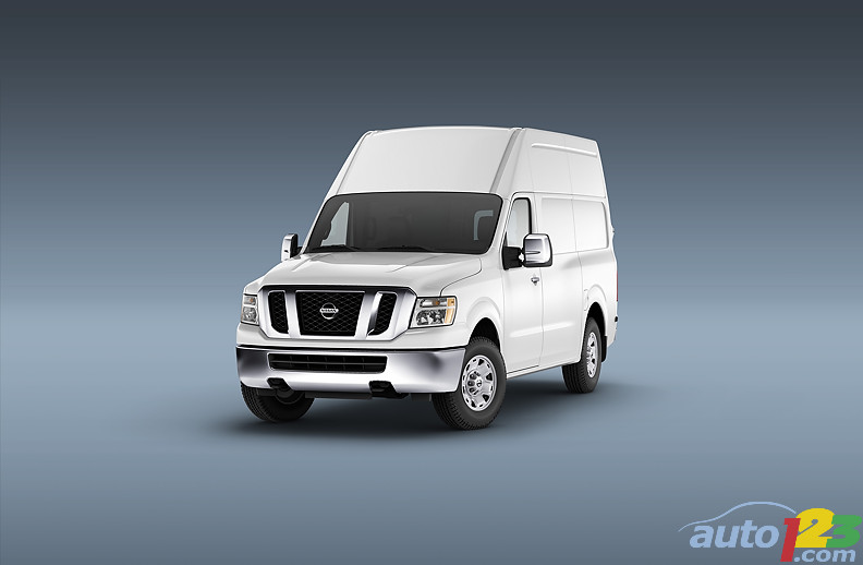 2011 Nissan NV at NTEA's Work Truck Show