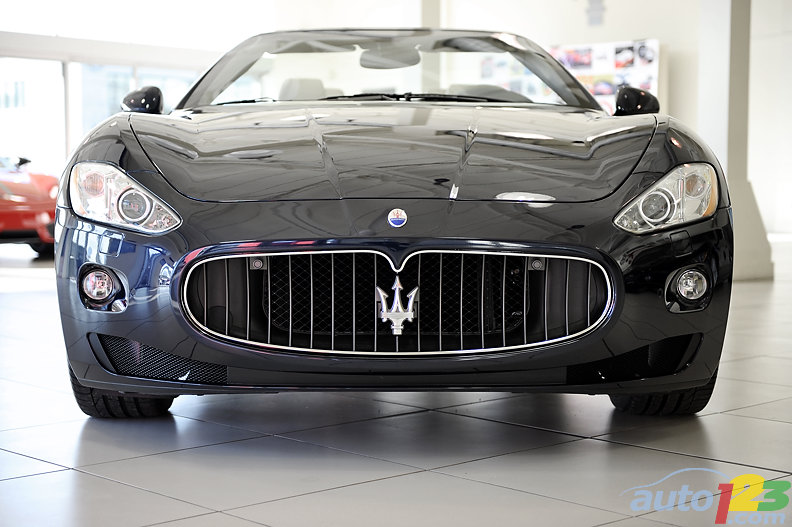 The 2010 Maserati GranTurismo goes topless in Canada!