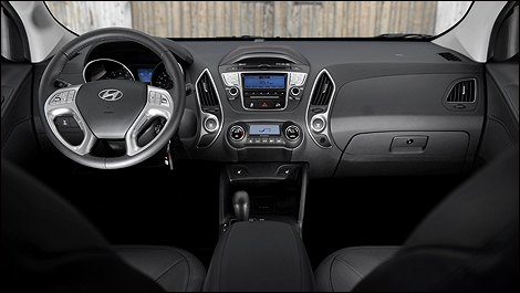 La qualit de la finition s av re meilleure que celle des for Interieur hyundai tucson