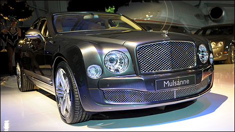 Bentley 2011 Mulsanne. Bentley Mulsanne