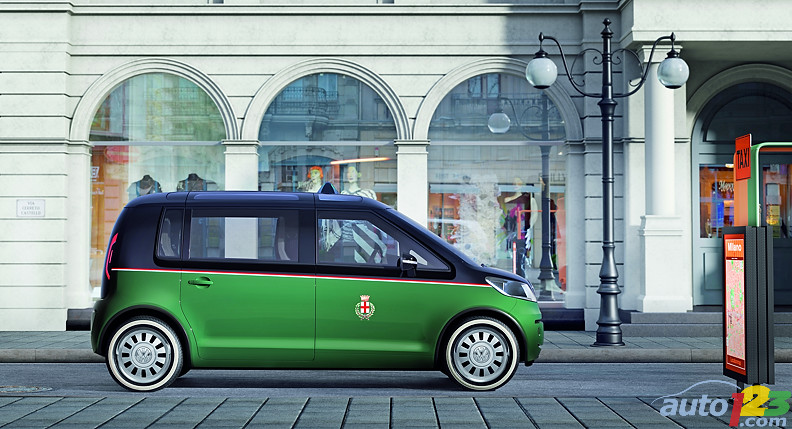 The taxi concept of Volkswagen