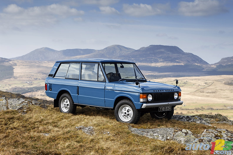 Range Rover Turns 40 This Month!