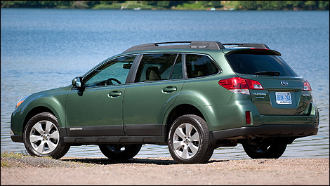 2010 Subaru Outback (Photo: Subaru)