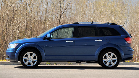 2010 Dodge Journey R/T Review
