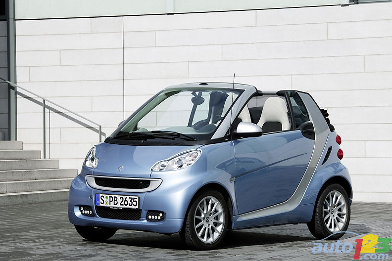 2011 smart fortwo: snazzy and coming soon to a dealership near you
