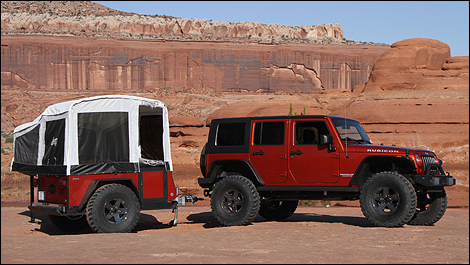 Jeep to offer customers off-road camper trailers this August - Car News |