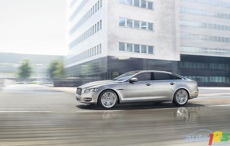 Jaguar to launch armoured version of the new XJ at the 2010 Moscow International Motor Show