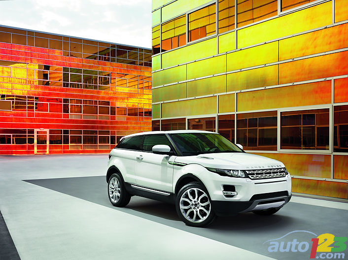 Le Ranger Rover Evoque officiellement d�voil� � Paris