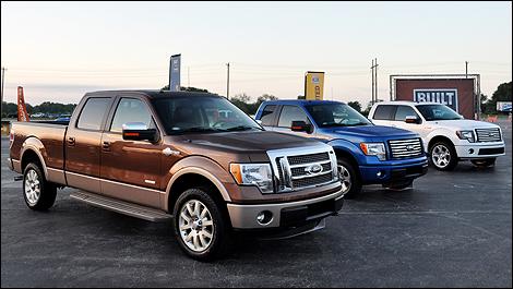 la ford f 150 2011 repr sente la camionnette pleine grandeur qui. Cars Review. Best American Auto & Cars Review