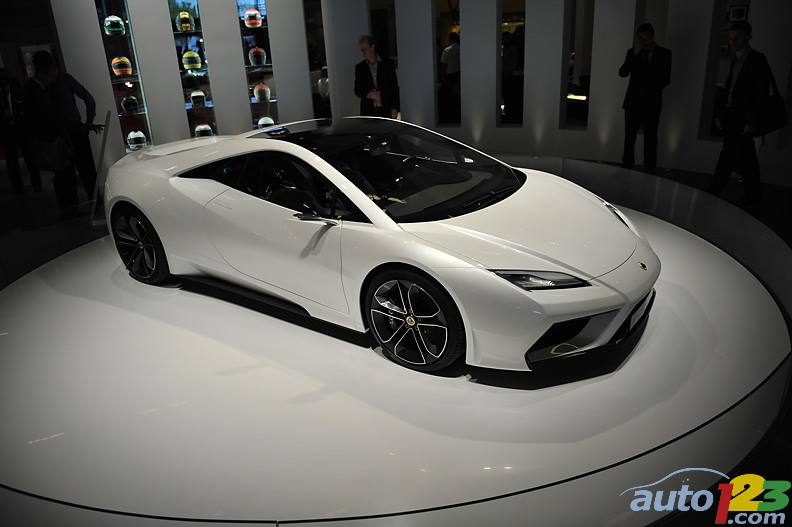 2010 Paris Auto Show Prototypes: Lotus Esprit