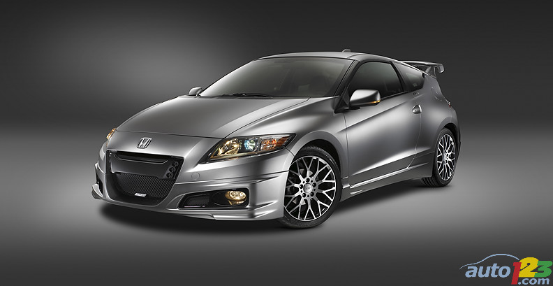 Honda CR-Z MUGEN and Hybrid R Concept unveiled at SEMA