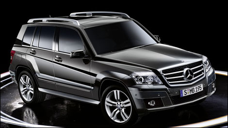 mercedes benz ajoute une version propulsion de la glk au. Black Bedroom Furniture Sets. Home Design Ideas