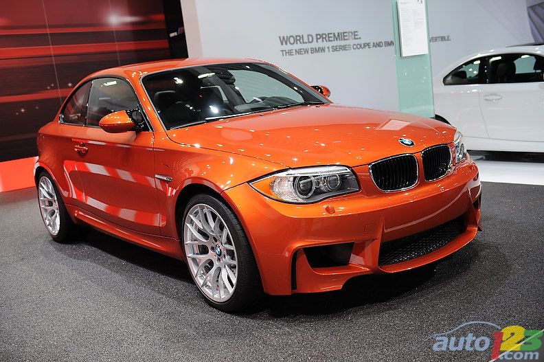Detroit 2011: BMW 1 M Coupe