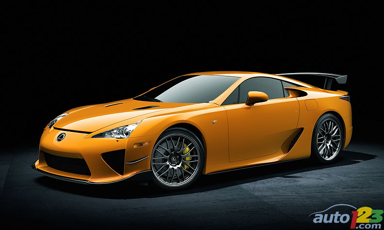 Geneva 2011: the Lexus LFA to strut its N�rburgring stuff
