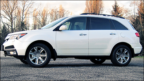 Acura  on Acura Mdx Elite 2011   Essai Routier