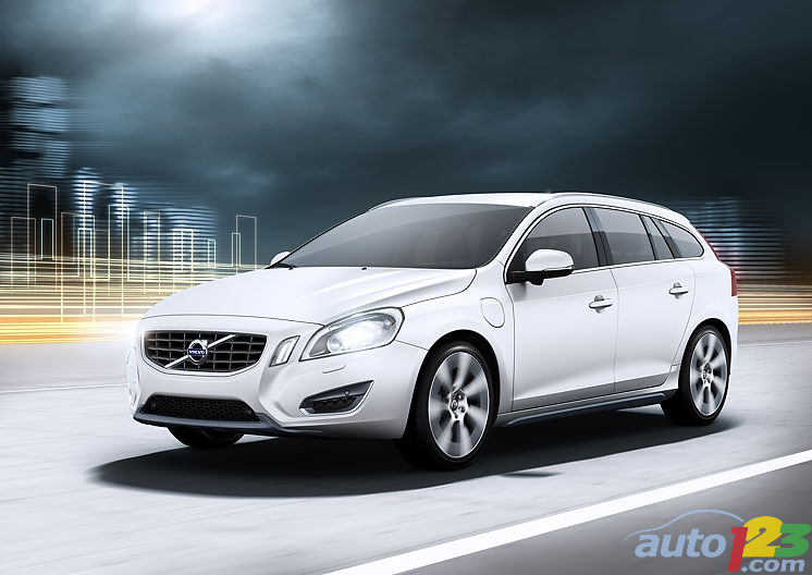 Volvo previews diesel-powered V60 Plug-in Hybrid