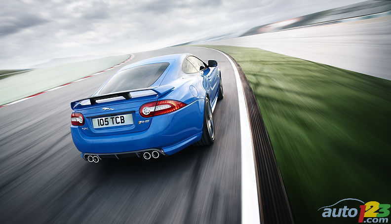 The XKR-S: the most powerful series production Jaguar ever built