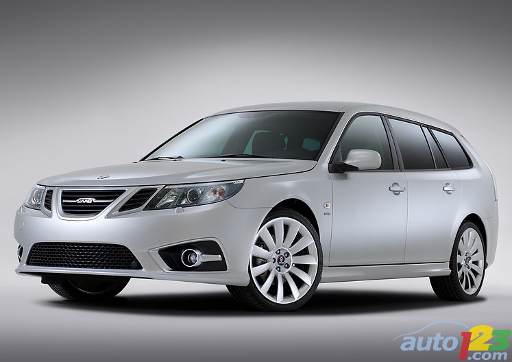 More power and style for 2012 Saab 9-3