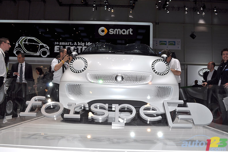 Geneva 2011: smart forspeed gallery