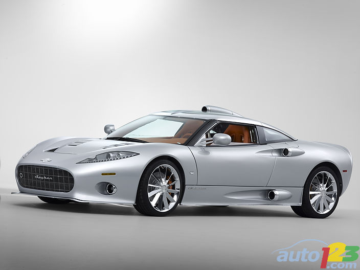 Spyker C8 Aileron will fly at Calgary Auto Show