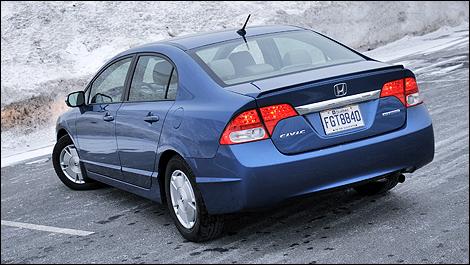 Vehicle Automobile World Honda Civic Hybrid Gp05