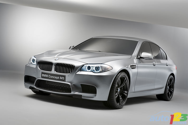 World premiere of the BMW M5 concept in Shanghai