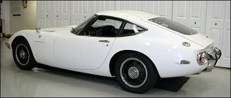 for sale 1967 toyota 2000gt coupe car news auto123. Black Bedroom Furniture Sets. Home Design Ideas