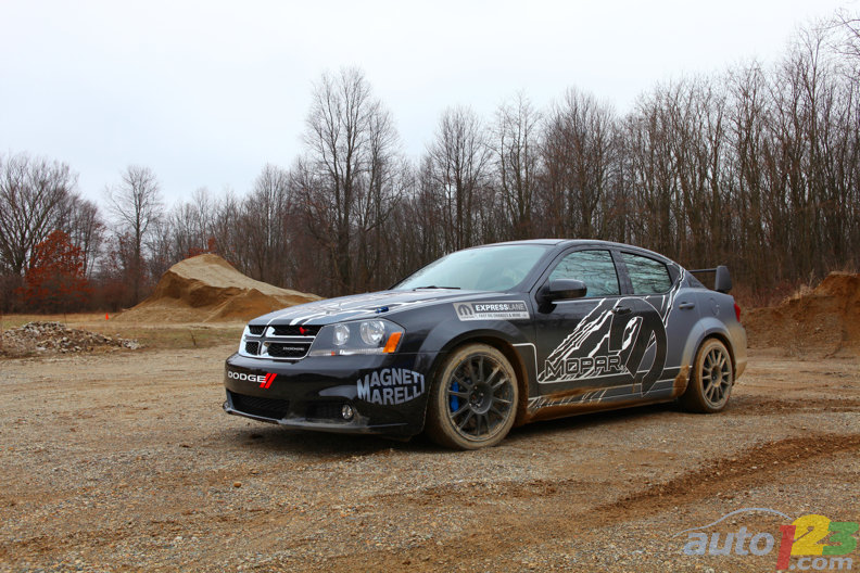 Rally-bred Mopar Dodge Avenger