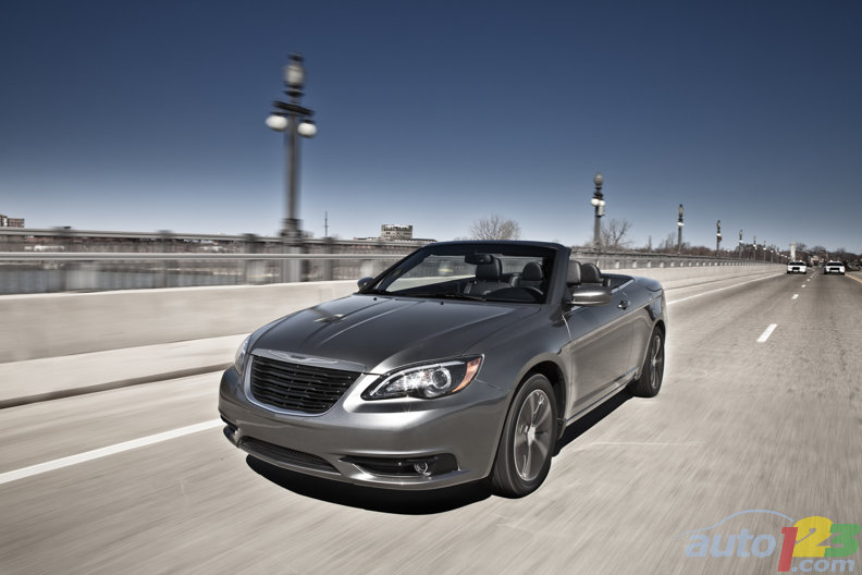 New Chrysler 200 S Sedan and Convertible all about attitude
