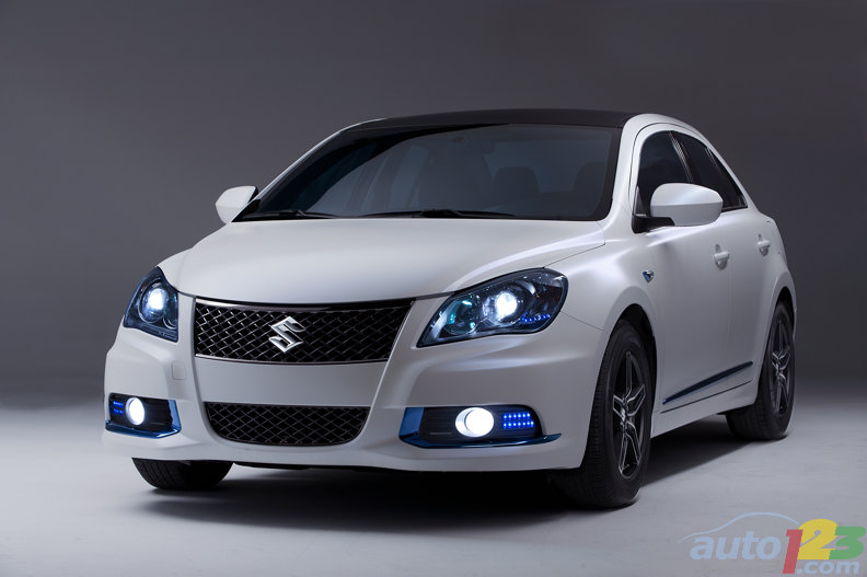 New York 2011: Suzuki unveils Kizashi EcoCharge and Apex concepts