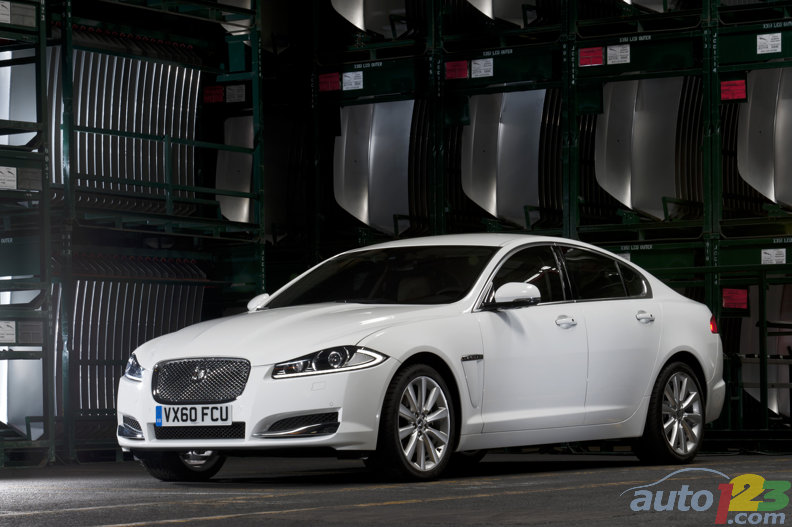 Jaguar reveals 2012 model line at the 2011 New York International Auto Show