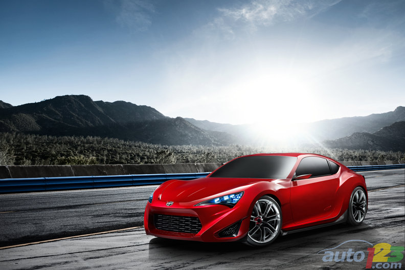 New York 2011: FT-86 II shows up as Scion FR-S Concept