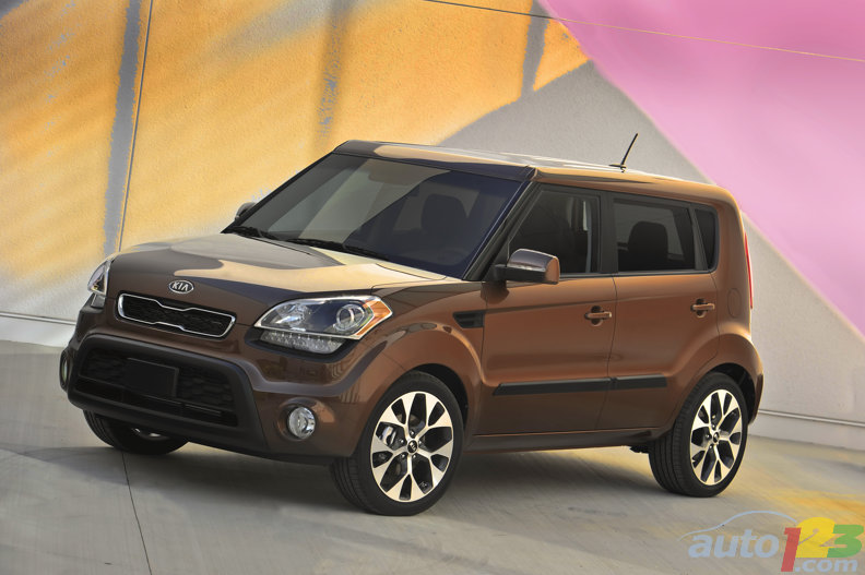 More powerful and fuel efficient 2012 Kia Soul debuts at the New York International Auto Show