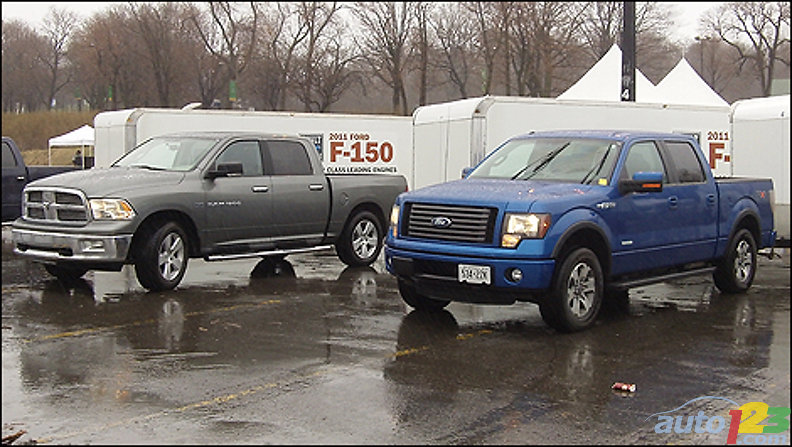 Built Ford Tough event : F-150 flaunts its new engines