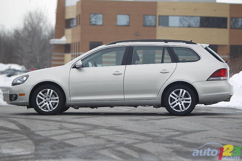 2011 Volkswagen Golf Wagon Tdi Clean Diesel Comfortline