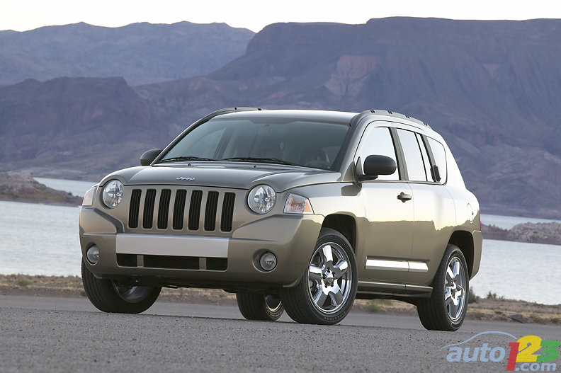Jeep Compass 2007-2010 : occasion