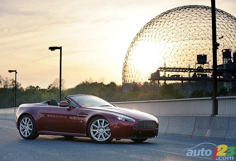 Aston Martin V8 Vantage S Roadster 2011 : essai routier: Galerie ...