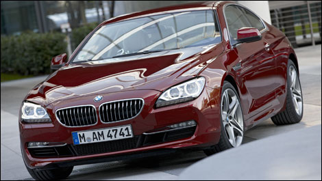 2012 BMW 6 Series Coupe unveiled